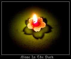 Alone In The Dark by sillylittleidiot