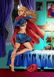 Supergirl Coloring by frostdusk
