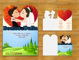 Wedding Invitation by XtrDesign