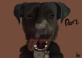 My Doggy, Rory by RoseLiang
