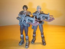 Gears of War Deadly Cute by pyramidhead22