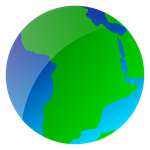 """Africa"" Vector Globe by trisreed"
