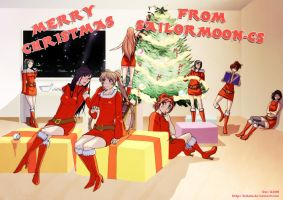 Sailor Moon CS - Christmas by Kibate