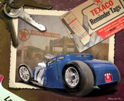 Hot Rod Ford Model A 5 windows coupe RedHotTiki by RedHotTiki