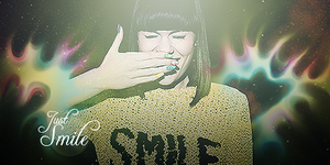 Smile - Trying a Smudge by MYCDesign