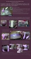 MLP Clay Corset Making Tutorial, Part 1 by Kazzellin