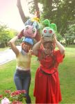 Digimon Adventure - Girls day by CherryMemories