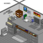 Office Cubicle by bonesvt