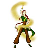 Emily the Earthbender by white-soldier