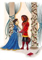 Beauty and the Beast by Simati