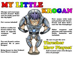 My Little Krogan by alizara