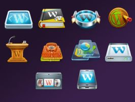 Wordpress Icons by FreeIconsFinder