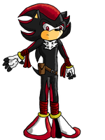 Sonic boom: Shadow by Krispina-The-Derp