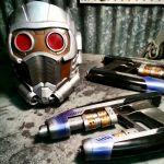 Starlord Helmet and Pistol Props by JohnsonArms