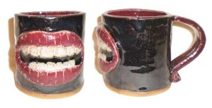 Lips Cup by aberrantceramics