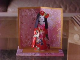 Little Japanese Doll by Larry-San