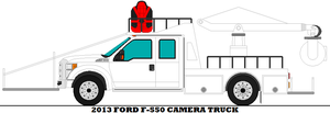 2013 Ford F-550 Camera Truck by mcspyder1