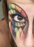 Mosaic eye close up by Kisskiss64