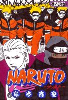 naruto manga cover thirty six by frecklesmile