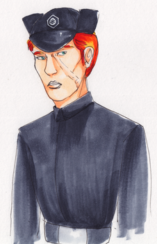 Scarred Hux by Sparr0wlicious