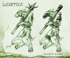 LIZARDFOLKS by XimonR