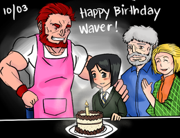 10/03 Happy Birthday Waver Velvet by hentist