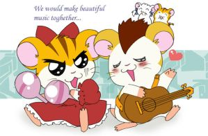 Hamtaro Crossdress, Stan by airytsu