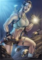 Lara Croft by assisleite