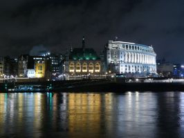 Across the River Thames by BrandonCWatson