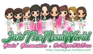 SNSD-ITNWchibi by squeegool