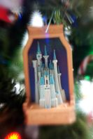 Lensbaby Christmas Tree I by LDFranklin