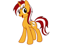 OC pony request Orange Cane by sweetchiomlp