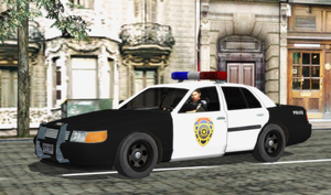 ORC RPD patrol car (XPS Re-updated) by bstylez