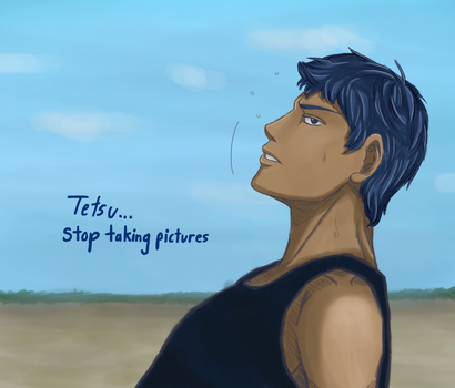 Aomine on the Court by StoryMasterPurple