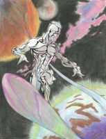Silver Surfer by mrreallydeviant87