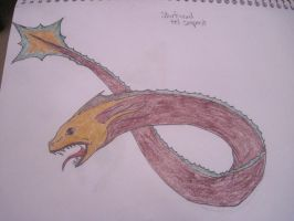 Starfinned Eel Serpent by JenovaRemnant