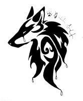 Cry Wolf Tribal by Peace-Wolf