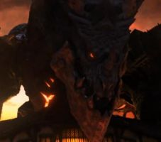 Deathwing Close up View by Firefawkz