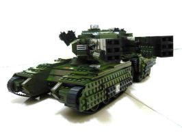 Lego Mammoth Tank 'Mix' 4 by SOS101