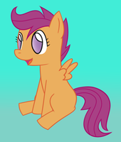 Scootaloo by oBNDo
