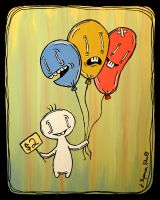 Balloons for Sale by Artifictions