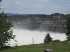 Oregon Dam/Locks by VolpeTrickster