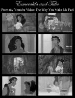 Esmeralda and Tulio - The Way You Make Me Feel by OohFire