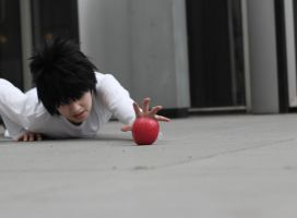 L Death Note 'Save me from the dark' by Hirako-f-w