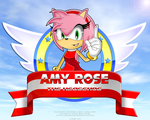 Amy Rose the Hedgehog by Angrysonicgamer