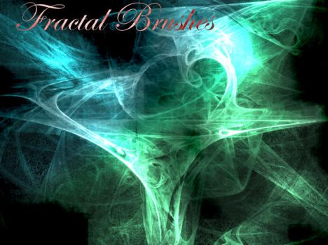 Fractal Brushes New Set::::: by KaiPrincess