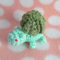 Mini Bulbasaur Amigurumi by MadameWario