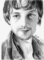 James McAvoy by jennyferx3