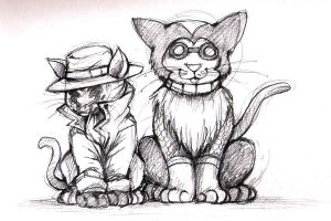 Watchcats by CatusSnake