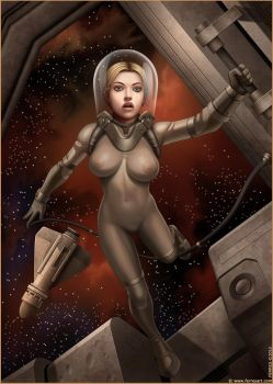 Space Girl by Ferres